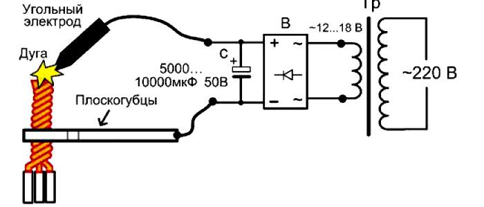 Сварочный аппарат своими руками 12 вольт стабилизатор напряжения спн и асн